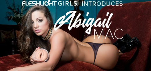 Abigail Mac lush fleshlight review
