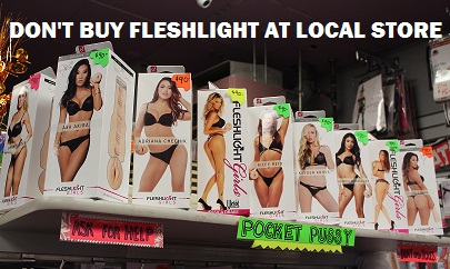 don't buy fleshlight from cvs walmart local stores